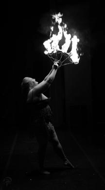 Trixy Rene lights up the stage at ABurlyQ 2017.